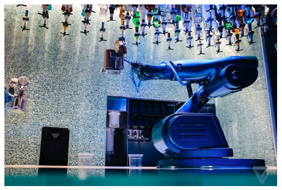 The Verge – I spent a weekend on a cruise ship staffed by robot bartenders
